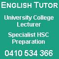 Judith Payne English Tutor HSC